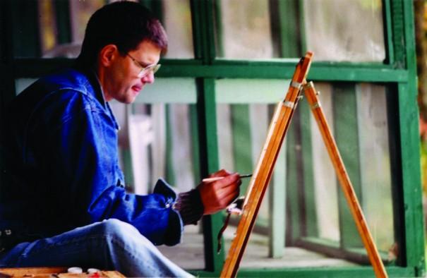 Garth sketching