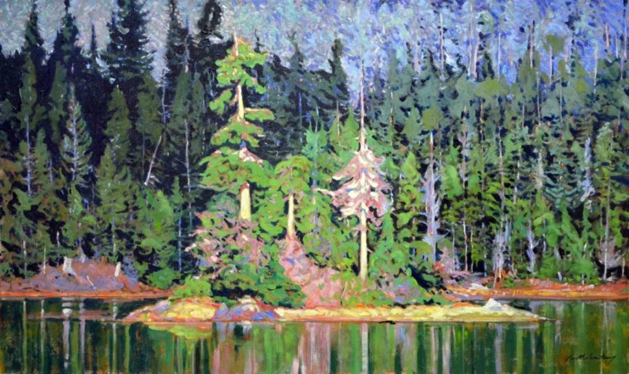 Garth Armstrong - Algonquin - 24x40 - GA0127 - Oil - BOOK