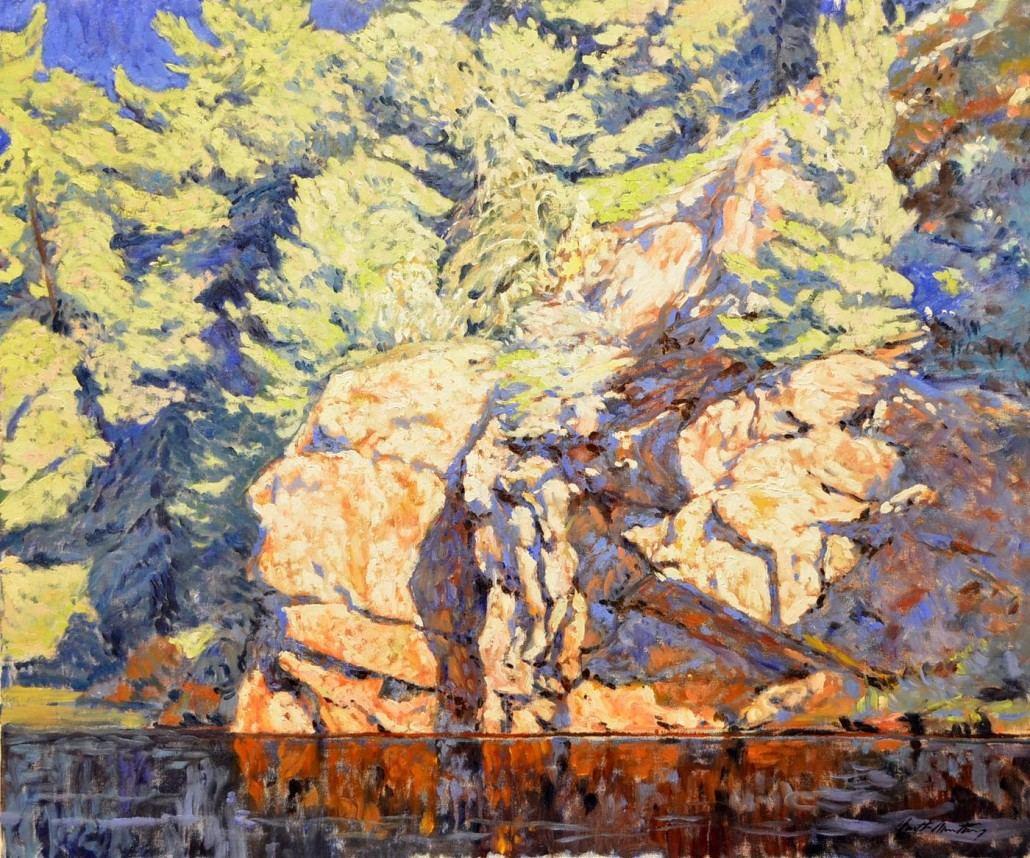Garth Armstrong - Collins Inlet, Georgian Bay - 30x36 - GA0146 - Oil - BOOK
