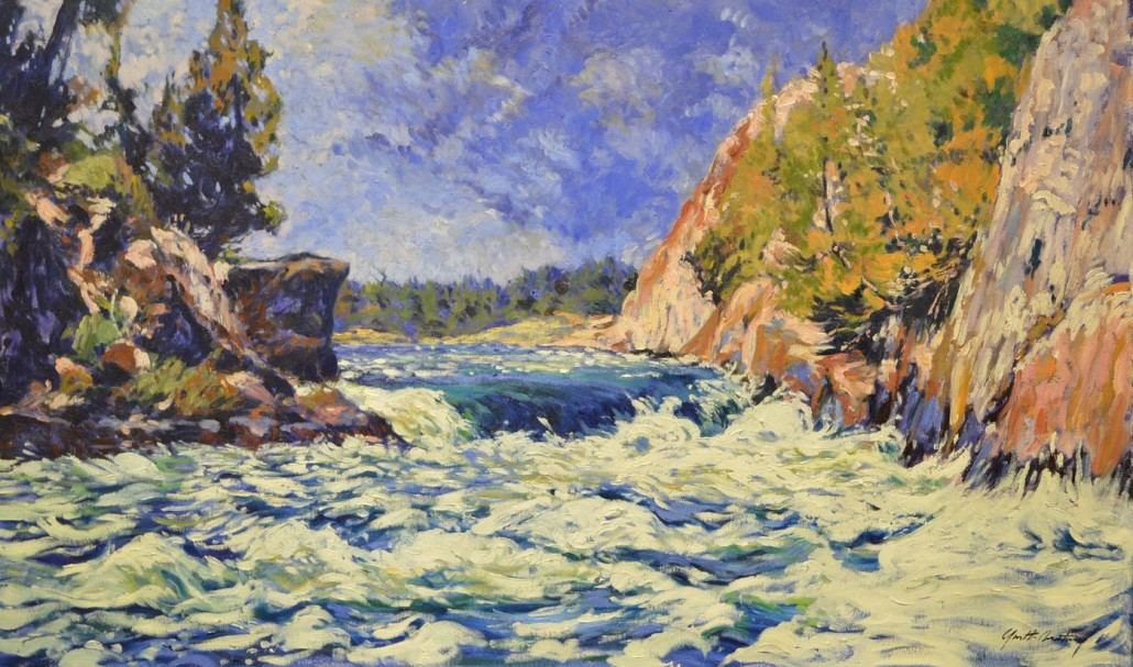Garth Armstrong - Devil's Door, Georgian Bay - 24x40 - GA0147 - Oil