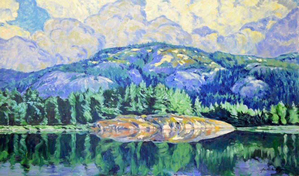 Garth Armstrong - La Cloche, Georgian Bay - 24x40 - GA0148 - Oil
