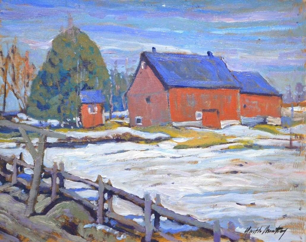 Garth Armstrong - Fenelon Falls - 8x10 - GA0165 - Oil - BOOK