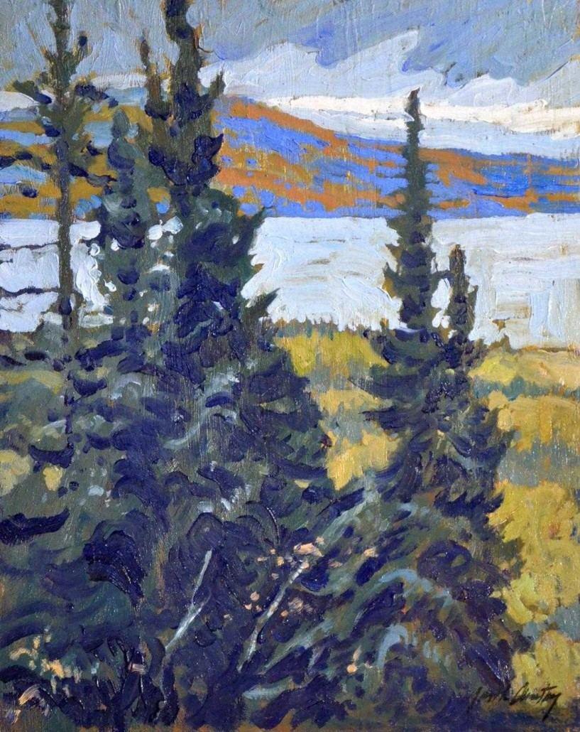 Garth Armstrong - Saguenay, Quebec - 8x10 - GA0168 - Oil