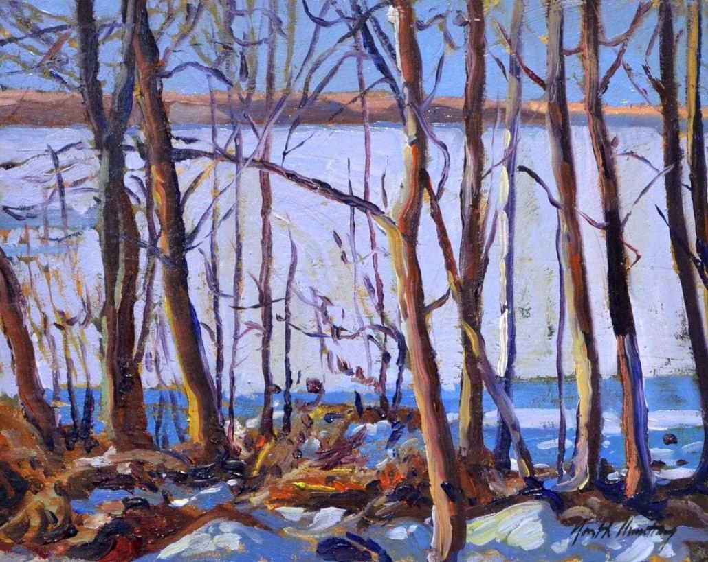 Garth Armstrong - Miskwabi, Haliburton - 8x10 - GA0170 - Oil - BOOK