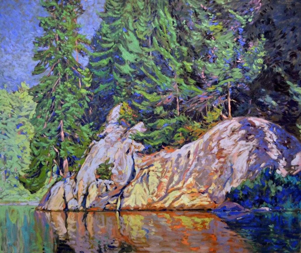 Garth Armstrong - Wolf Lake, Kawarthas - 30x36 - GA0172 - Oil - BOOK