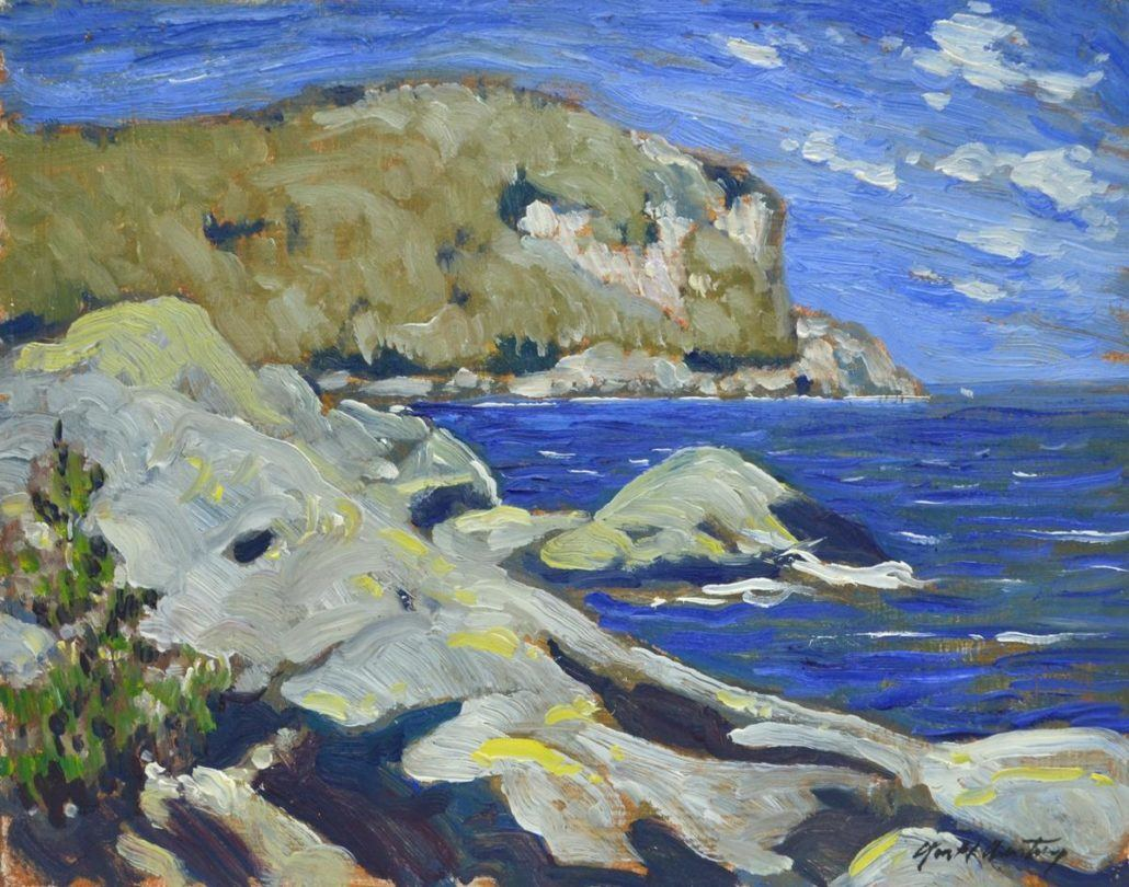 Garth Armstrong - Hope Bay - 8x10 - GA0197 - Oil - BOOK