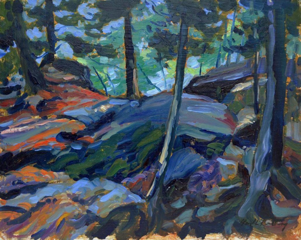 Garth Armstrong - Rattlesnake Point - 8x10 - GA0201 - Oil - BOOK