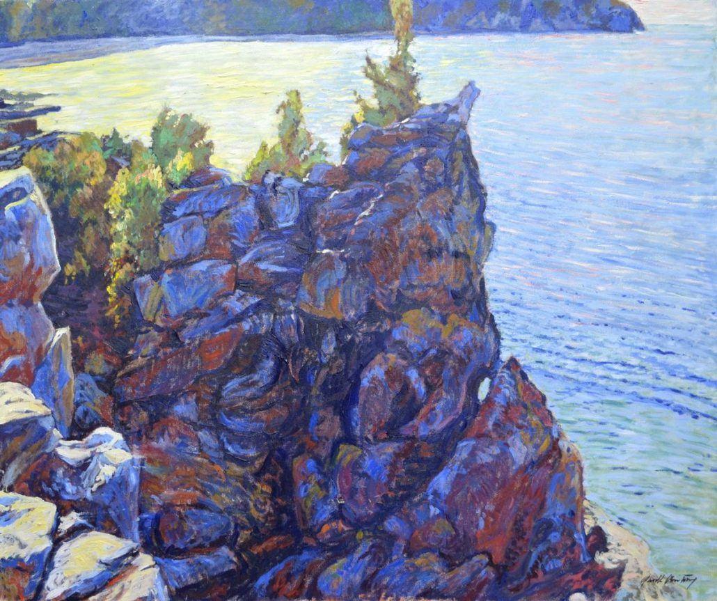Garth Armstrong - Cyprus Lake - 30x36 - GA0211 - Oil - BOOK