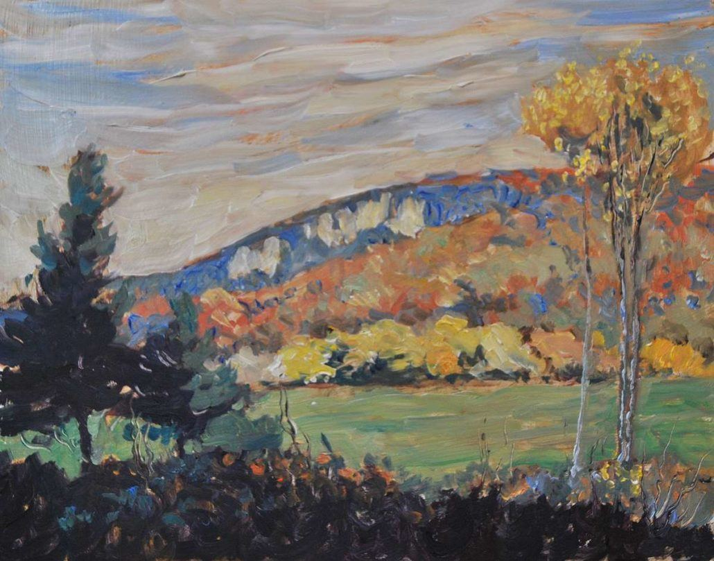 Garth Armstrong - Colpoys Bluff, Wiarton - 8x10 - GA0232 - Oil - BOOK