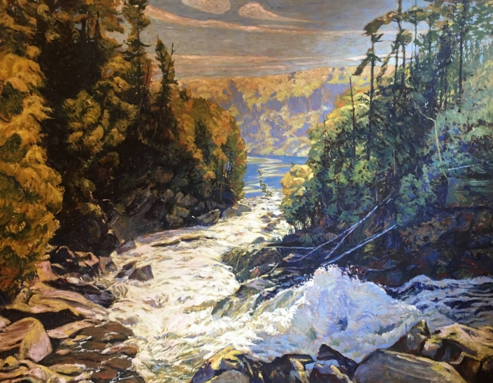 Garth Armstrong - Ragged Falls, Oxtongue River