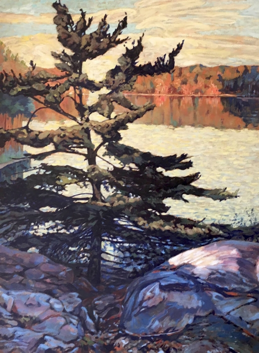 Garth Armstrong - Algonquin Sunrise (Louvre)
