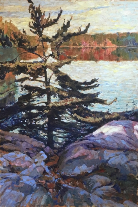 Garth Armstrong - Algonquin Sunrise (Study)