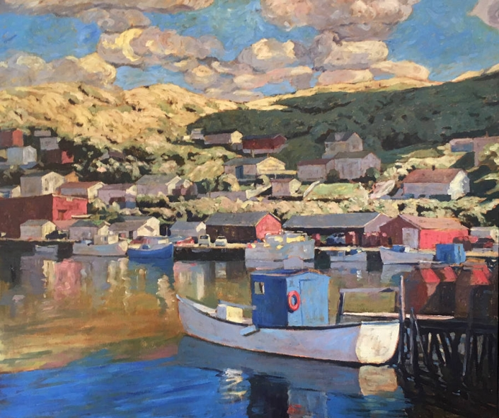 Garth Armstrong - Petty Harbour - 30x36 - GA0274 - Oil